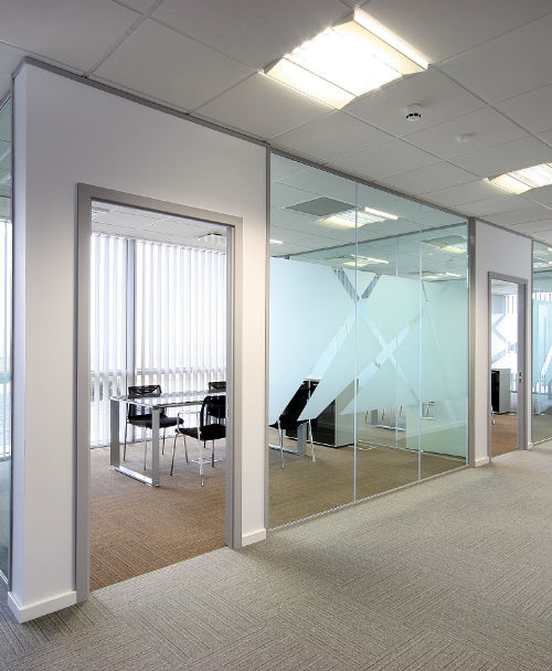 Raised access flooring for offices